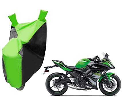 Wing Mirrors World KAWASAKI ZX-6R Rider Products Waterproof Motorcycle Cover Motorbike Black