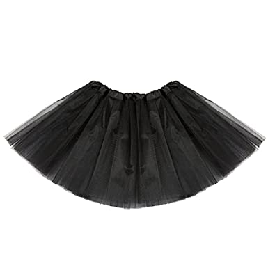 e6f2e56d5 ISSHE Womens Tutu Skirt Adult Tutu Skirts Tutus For Women Ladies Tulle Skirt  For Adults Girls Fluffy Tutu Skirt Ballerina Puffy Tutu Costumes Bubble  Tiered ...