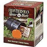 Frontiersman Bear Safe Bear Resistant Food Container – Store Food Securely – RQD for Hiking in Many Natl Parks