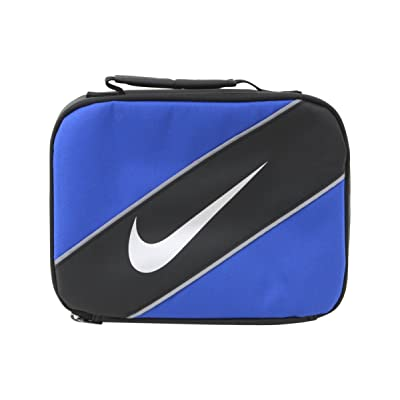 Nike Contrast Insulated Reflective Game Royal Tote Lunch Bag