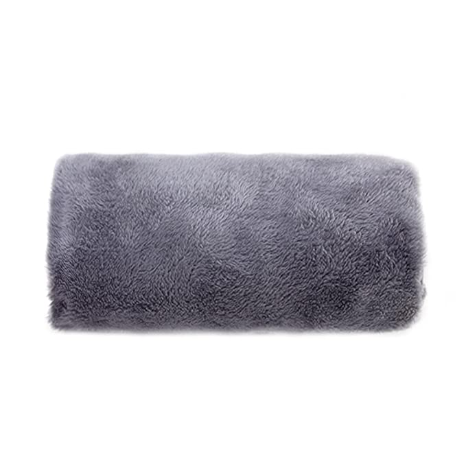 Winter electric heating warmer pillow hand muffs for women und elder with car usb charging (Gray)