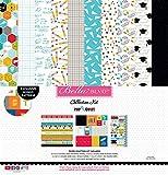 Pop Quiz PQ1891 12'' x 12'' Bella BLVD Collection Kit, Multicolor