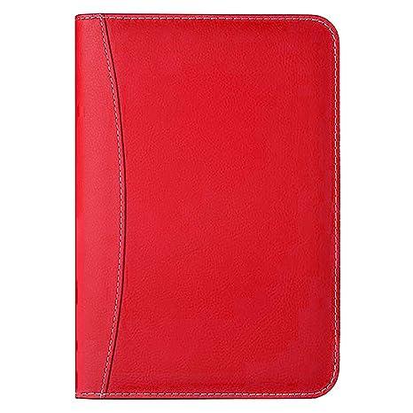 Amazon.com: Carpeta de carteras con cremallera y carpeta de ...
