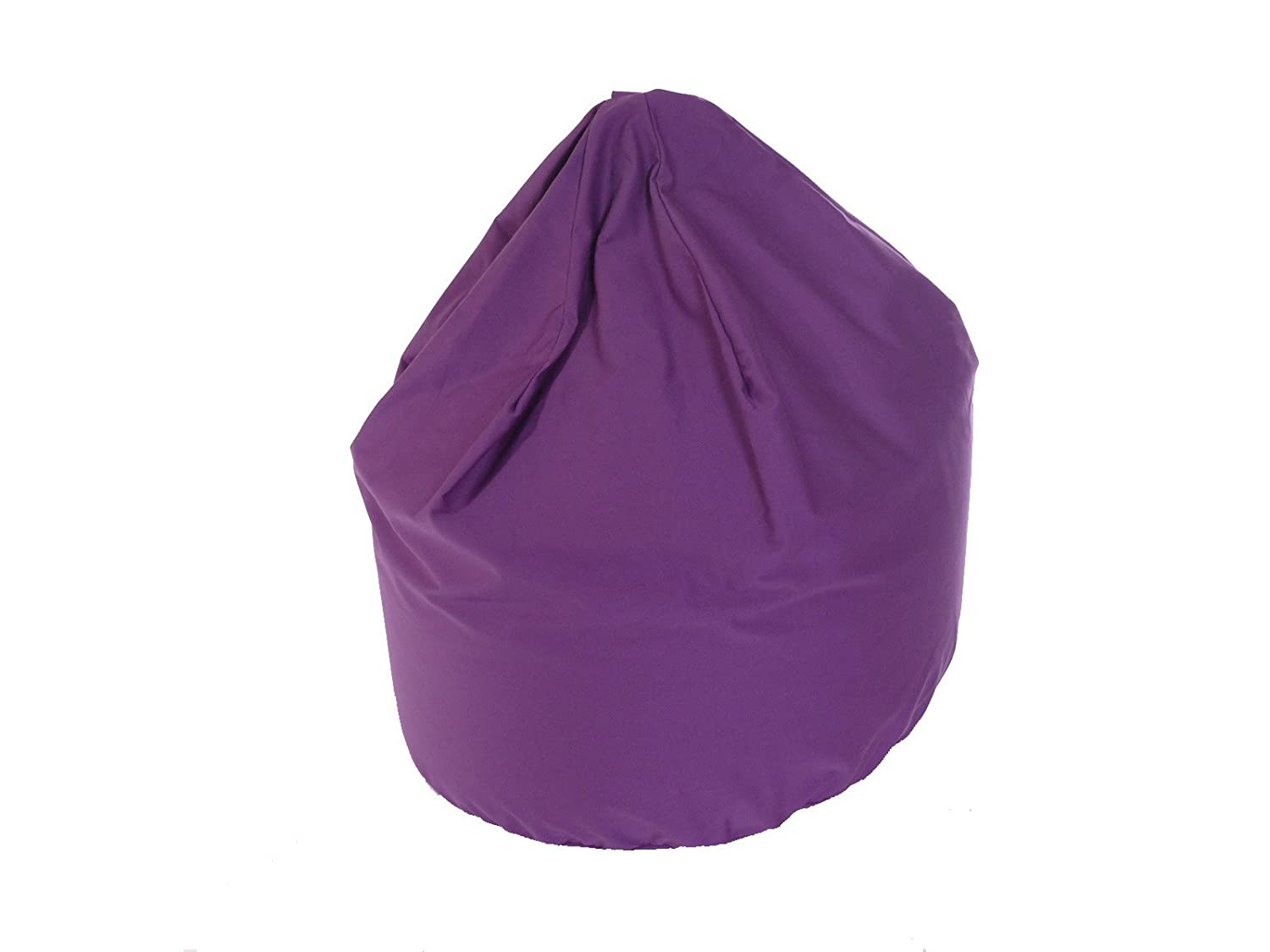 BeanLazy LARGE SIZE Cotton Drill Bean Bag Beans In Purple