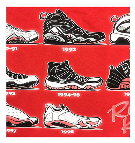 Mens Hipster The Retro Kicks Jordan Running Print (Jordan Apparel)