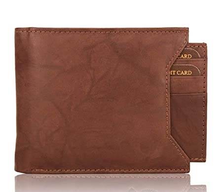 Fosso reg; Brown Artificial Leather Wallet  3 Card Slots  Wallets