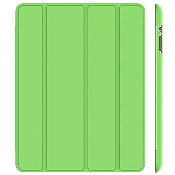 JETech Hülle für iPad 4, iPad 3 und iPad 2, Schutzhülle mit Ständer Funktion und Auto Schlaf/Wachen, Grün