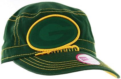 6a638ea0 Amazon.com : New Era Green Bay Packers Jumbo Zone Women's Military ...