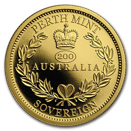 2019 AU Australia Gold Sovereign Proof Gold Brilliant Uncirculated