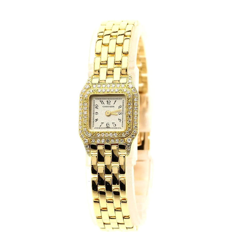 [カルティエ]ミニパンテール 腕時計 K18イエローゴールド/ダイヤモンド レディース (中古) B07D51Q2Y3