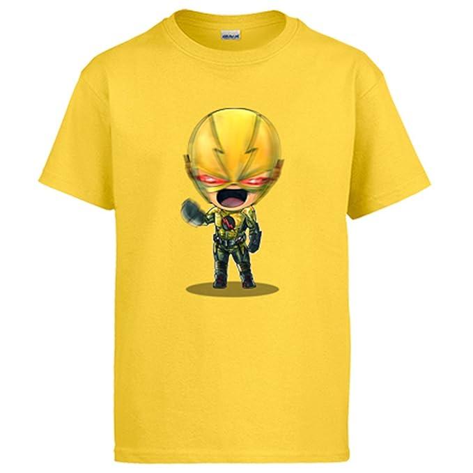 Diver Camisetas Camiseta Chibi Kawaii Flash Reverso Parodia: Amazon.es: Ropa y accesorios