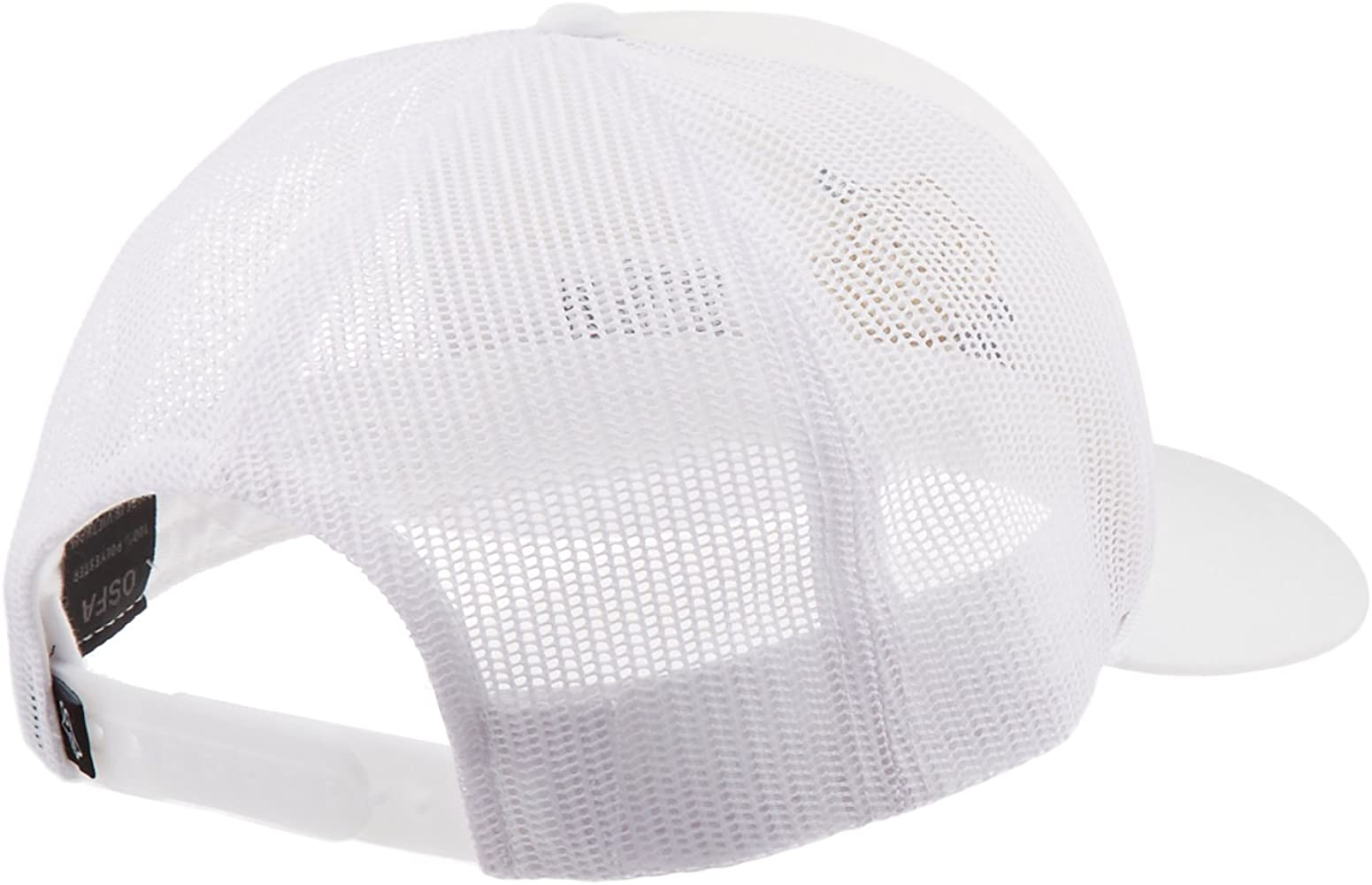 Fox Racing Gorra Para Mujer Rosey Trucker Hat (Blanco, Talla única ...