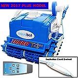 2017 Aquabot Turbo T4-RC Plus w/ Swivel & RC Robotic Pool Cleaner