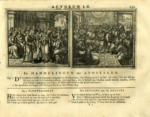Antiguo ThePrintsCollector cruzerlite-apóstol-Santa religiosa espíritu-Borcht-1717