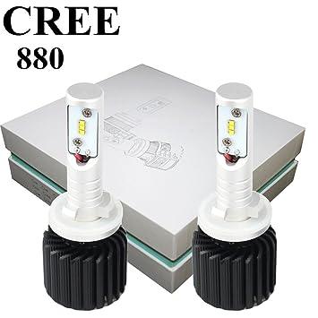 880 LED Headlight Bulbs Conversion Kit CREE 12000LM 6500K CANBUS