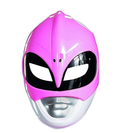Amazoncom Pink Ranger Vacuform Mask Costume Mask Clothing