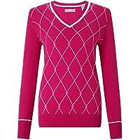 Callaway Jacquard Sweater - Jersey de Golf Mujer