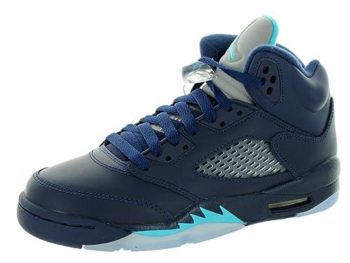super popular 2bd72 ee905 Nike Air Jordan 5 Retro Bg, Zapatillas de Deporte para Niños  Amazon.es   Zapatos y complementos