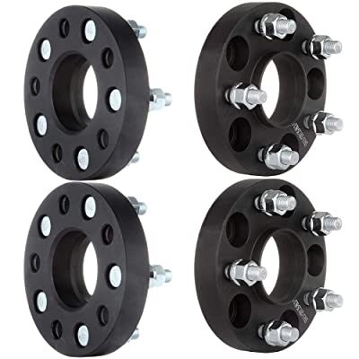 "OCPTY Replacement Parts Compatible with 4Pc 25mm (1"") Hubcentric Wheel Spacers 66.1mm 12x1.25 Studs W/Lip for Nissan Maxima 350Z Infiniti Q45 M45 G35 FX45 FX35: Automotive"