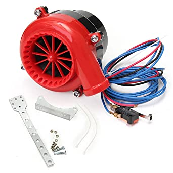 Wosonku Car Fake Dump Electronic Bov Turbo Blow Off Hooter Valve Analog Sounds Universal
