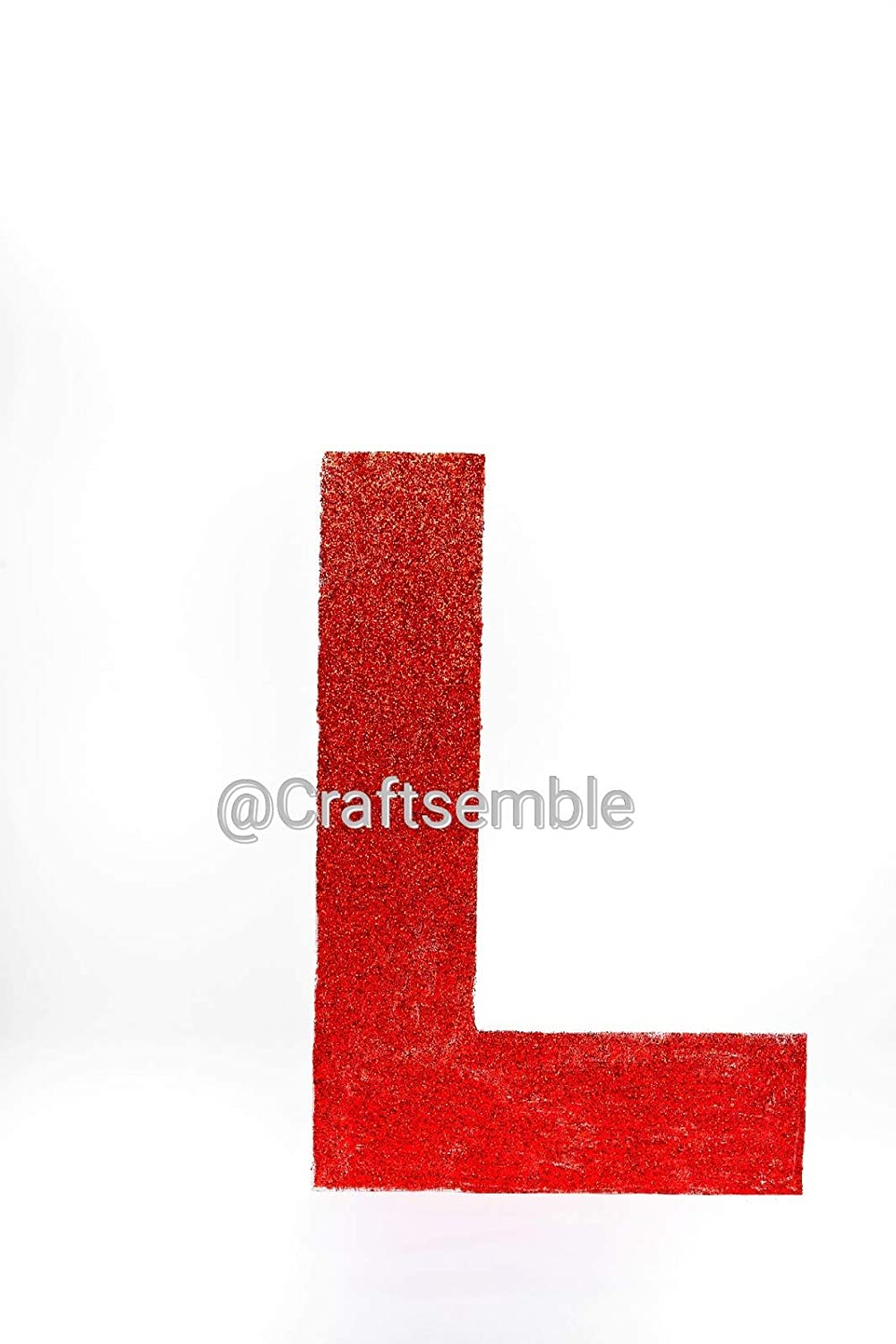 2 ft Large alphabet or number foam letter signs Letter L 36 inches 3 ft wide with a 2 inch thickness tall by 24 inches