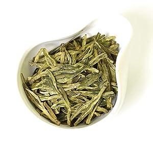 GOARTEA 250g / 8.8oz Premium Xihu Longjing Long Jing Dragon Well Dragonwell Spring Loose Leaf Chinese Green Tea