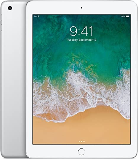 Amazon Com Apple Ipad 9 7in With Wifi 32gb Silver 2017 Newest Model Renewed Computers Accessories