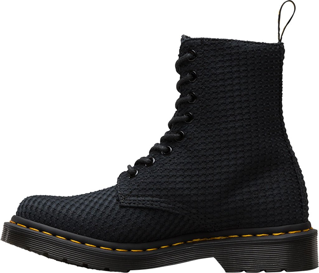 Dr. Martens Women's 9 Page Wc Boot B01IDT7P1G 9 Women's B(M) US|Black Waffle Cotton b5714b