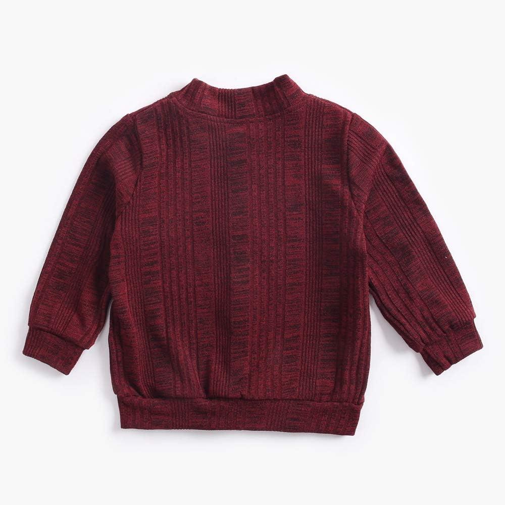 Sanlutoz Button Infant Baby Girls Jacket Long Sleeve Unisex Newborn Baby Sweater Coats Autumn