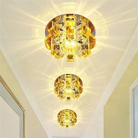 BRIGHTLLT Arcade Lámparas pasillo LED corredor cristal ...