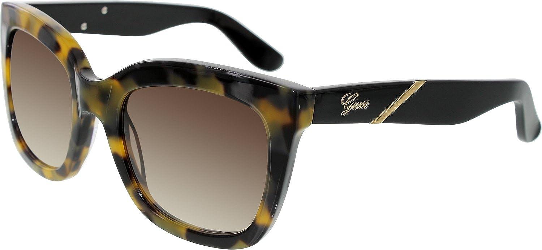 Guess 7342 Womens/Ladies Cat Eye Full-rim Gradient Lenses Sunglasses/Shades
