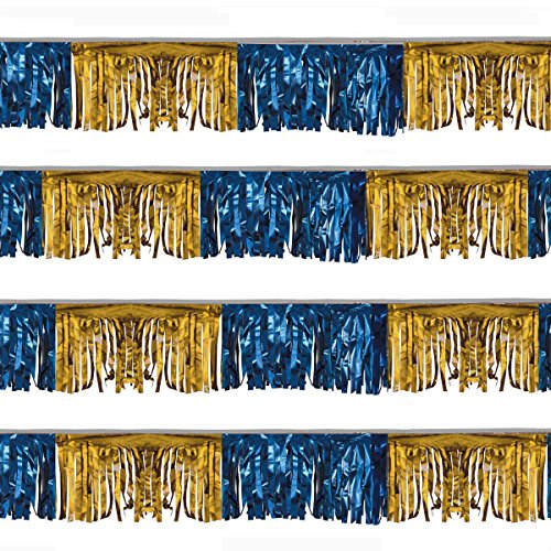 Starburst String (Blue and Gold Starburst String Pennants (60 ft.))