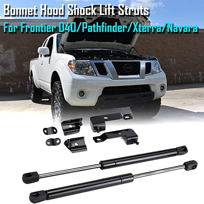 A-Premium Rear Tailgate Left Assist Lift Support Gas Spring Compatible with Nissan Frontier 2005-2020