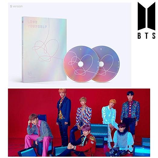 BTS Love Yourself Answer (S Version) Bangtan Boys Album 2CDs+ ...