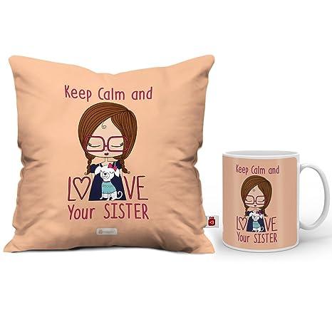 Buy Indi ts Rakhi Gift for Sister Keep Calm Love Sis Quote