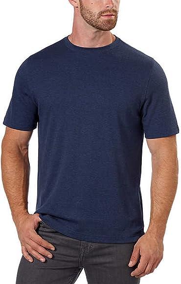 7ecd6b7d Kirkland Signature Men's Cotton Classic Tee Shirt (XXL, Blue ...
