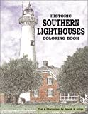 img - for Historic Southern Lighthouses Coloring Book book / textbook / text book