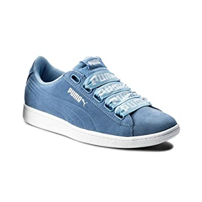234044ead22 Puma Women s Vikky Ribbon Bold Trainers  Amazon.co.uk  Shoes   Bags