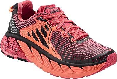 3c7019a67f37a Hoka Gaviota Womens Running Shoes Paradise Pink/Neon Coral - 4 UK ...