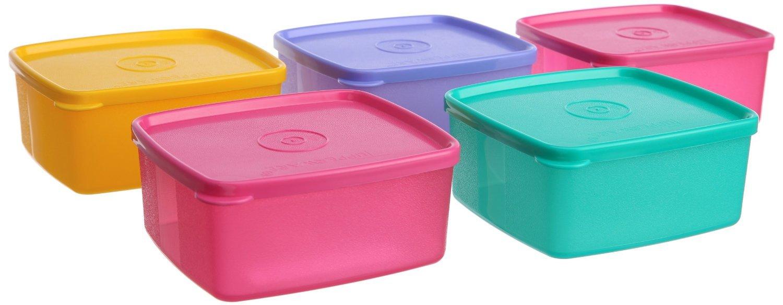 Buy Tupperware Cool N Fresh Plastic Container Set, 400ml, Set of 2 ...