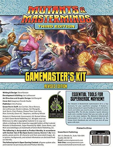 Mutants & Masterminds Gamemasters*NOP