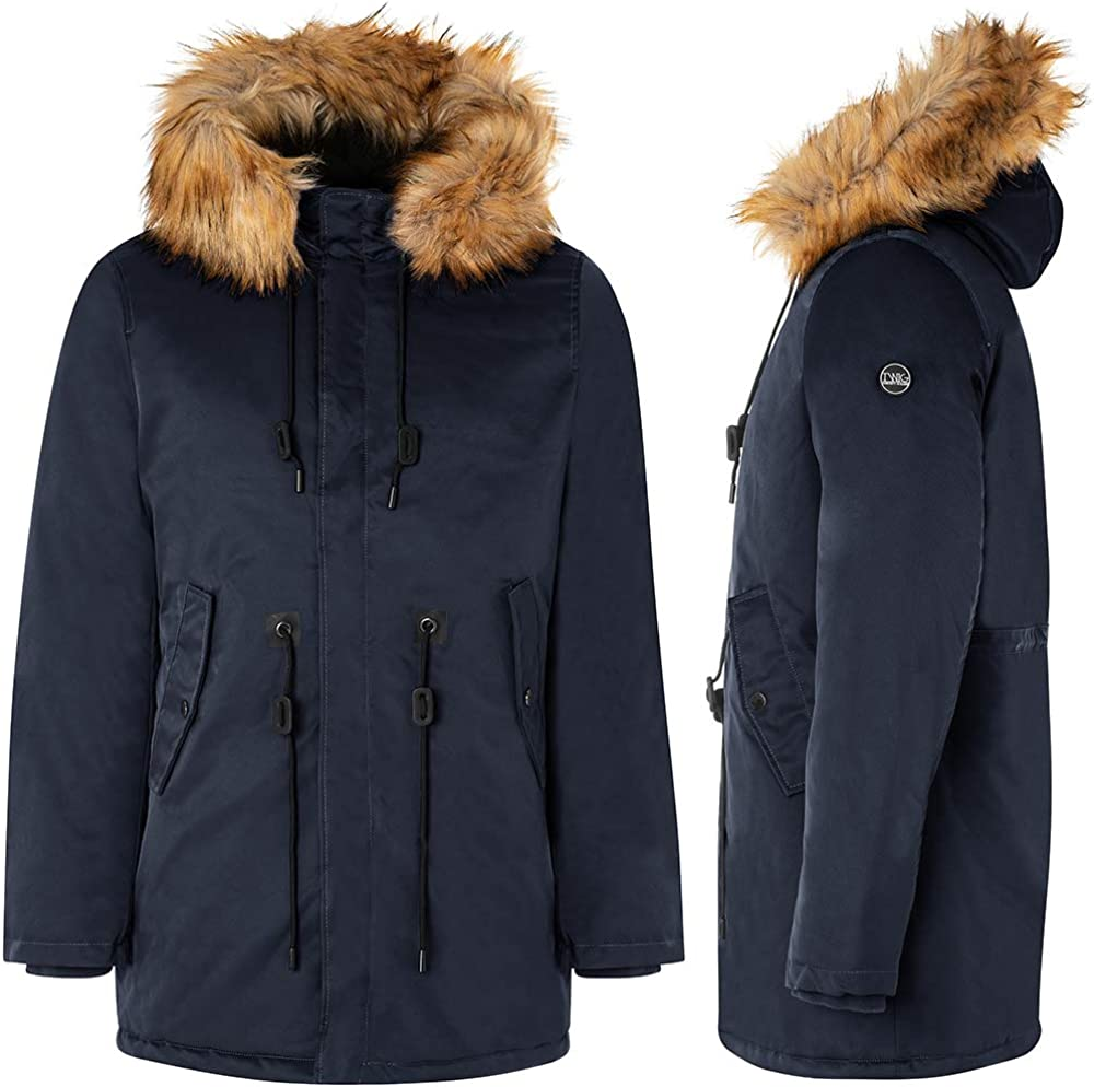 Manteau homme TWIG Sailor Parka L310 veste capuche fourrure