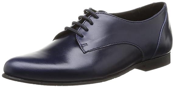Yep Adriane - Zapatos de cordones de cuero para niño azul Bleu (Cuir Bleu) 40 QDptjkxjQ