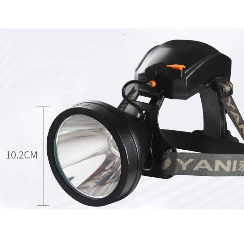 ERHANG Stirnlampen Scheinwerfer Scheinwerfer Taschenlampe Taschenlampe Starkes Licht Aufladung Superhell Kopf-montiert Taschenlampe Totale