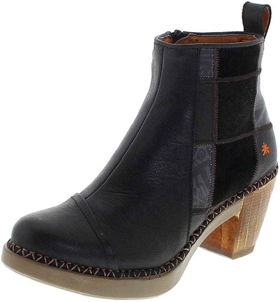 Art Sol 1162 Memphis schwarz Damen Stiefelette Schwarz Damenschuhe Damen Stiefel