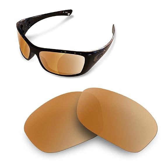 9d0fb0ac3e Amazon.com   Sunglasses Restorer Polarized Brown Replacement Lenses for Oakley  Hijinx   Sports   Outdoors