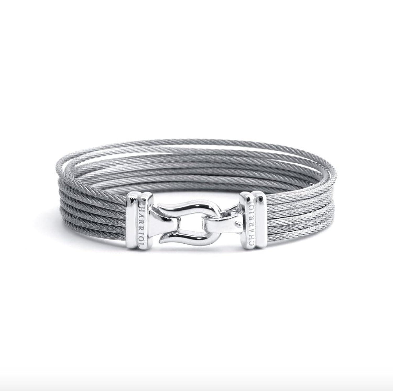 Amazon.com: New Charriol Brilliant Bracelet Bangle 04-121-1214-0 ...