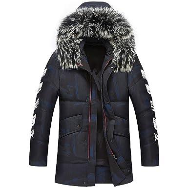 d3ce132ece6 80% White Duck Thick Down Jacket Men Coat Snow Parkas Male Warm Clothing  Winter Down