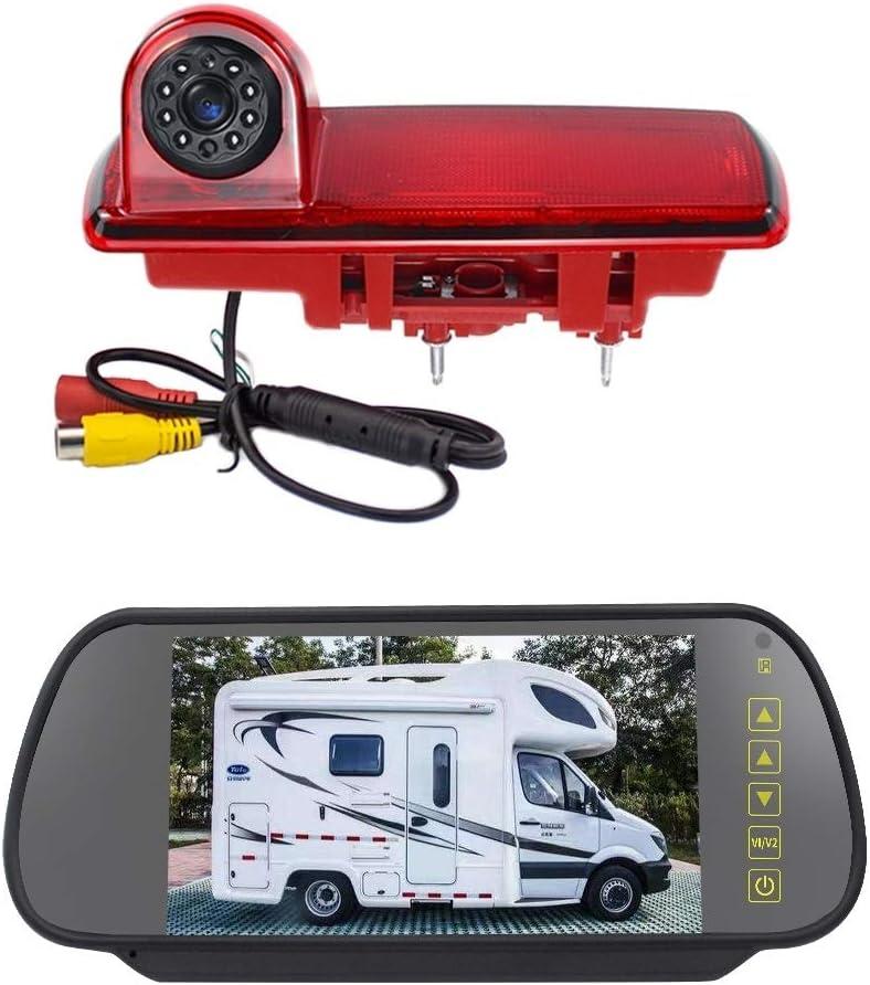 監視カメラ ルノー/オペルのためのHYF PZ463カー防水170度ビューカメラ+ 7インチバックミラーモニター