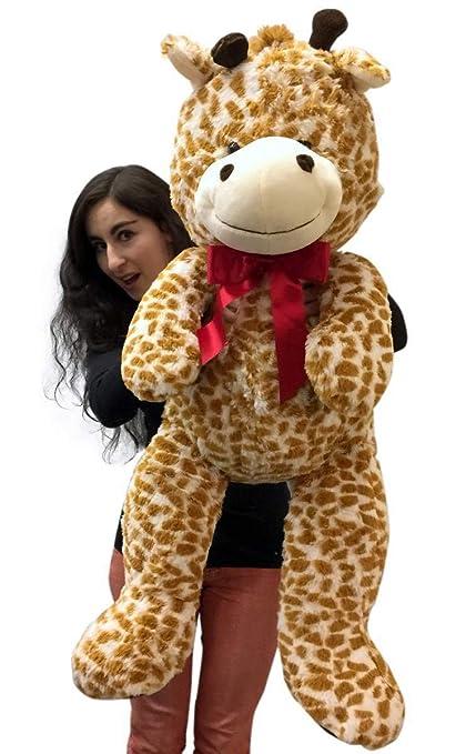 Amazoncom Big Plush 3 Foot Giant Stuffed Giraffe 36 Inch Soft